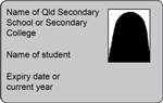 Example of student identification