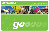 Front of concession go card